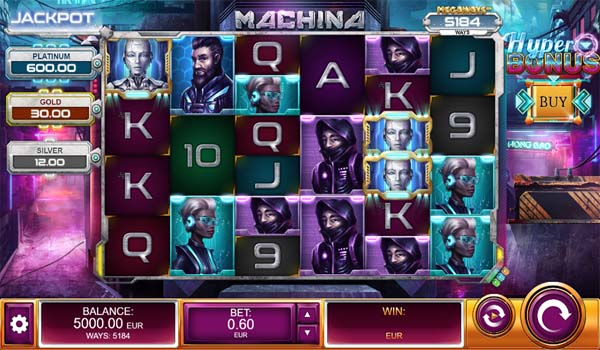 Main Gratis Slot Indonesia - Machina Megaways (Relax Gaming)