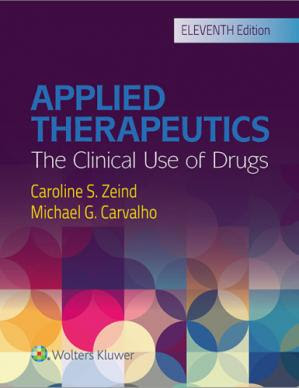 Applied Therapeutics: The Clinical Use of Drugs pdf free download
