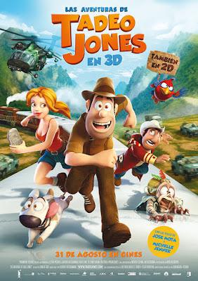 Las aventuras de Tadeo Jones Poster