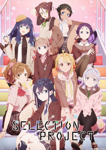 Second Visual of Selection Project Anime Shows All Characters