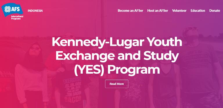 Pertukaran Pelajar SMA/Sederajat ke Amerika Program KL YES Tahun 2022