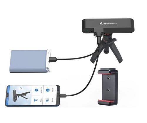 Revopoint POP 3D Scanner 0.3mm Accuracy 8 Fps Scan Speed