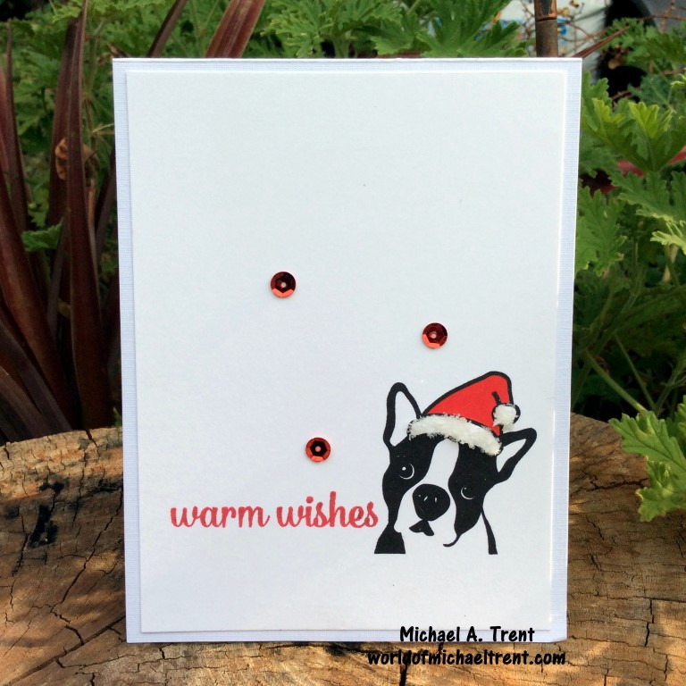 World Of Michael Trent: The Easiest Christmas Card for Dog Lovers