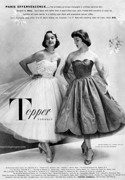 1950 Paris Effervescence Prom Dresses by Topper Formals