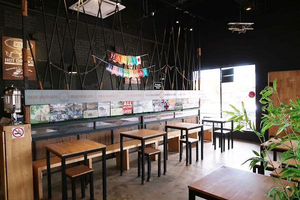 Smiling Orchid Coffee Cafe Tanah Merah
