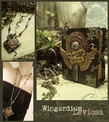 wearable book jewelry