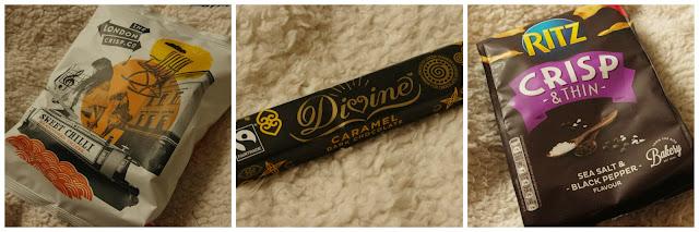 degusta treats chocolate and crisps