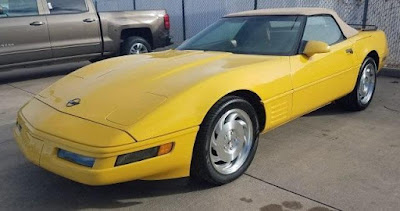 1991 Chevy Corvette for sale at Purifoy Chevorlet near Denver
