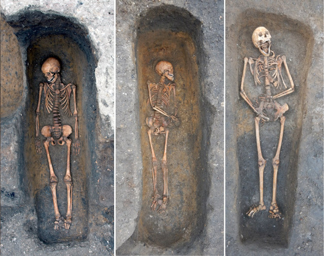 First evidence that medieval plague victims were buried individually with 'considerable care'