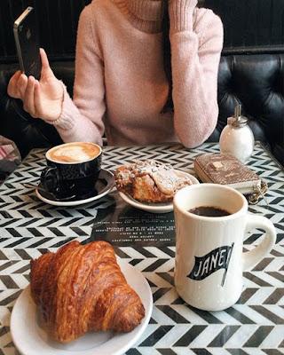 foto tumblr de desayuno