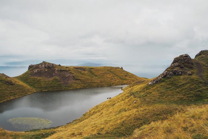 Randonnée sur The Old man of Storr sur l'île de Skye en Ecosse