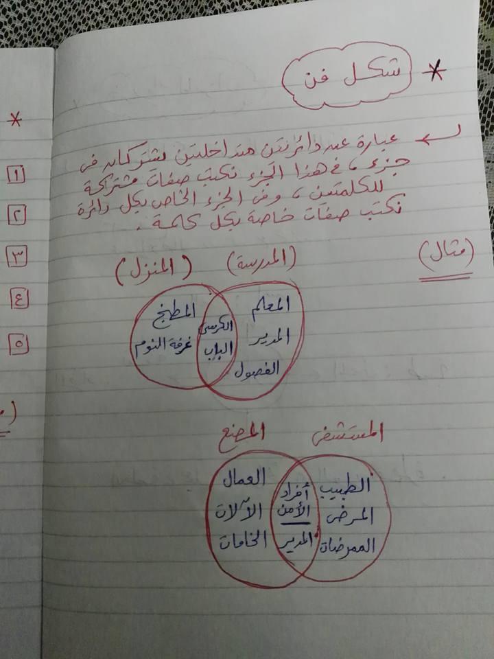 مراجعة القواعد النحوية والتراكيب للصف الثاني والثالث الابتدائي مستر إسلام سمك 10
