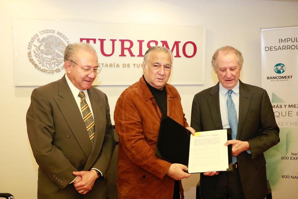 SECTUR BANCOMEXT IMPULSARAN PYMES TURISTICAS CREDITOS CAPACITACIÓN 02