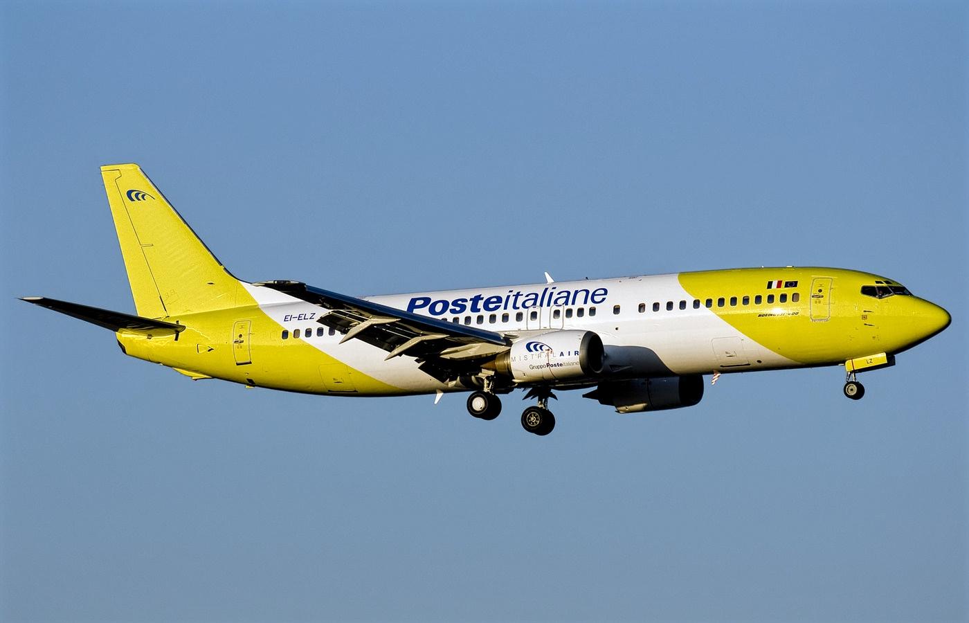 Mistral Air PosteItaliane Boeing 737-400