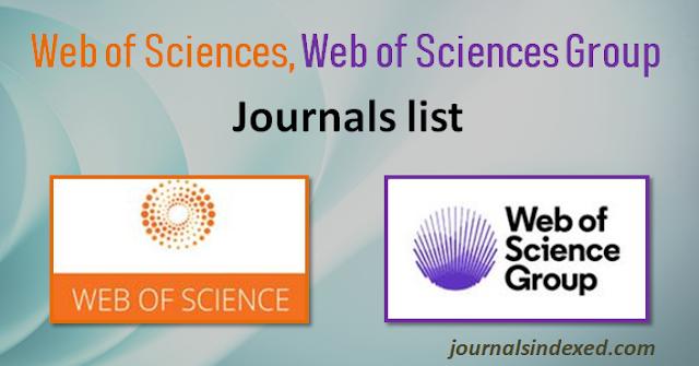 SCIENCE CITATION INDEX EXPANDED - JOURNAL LIST