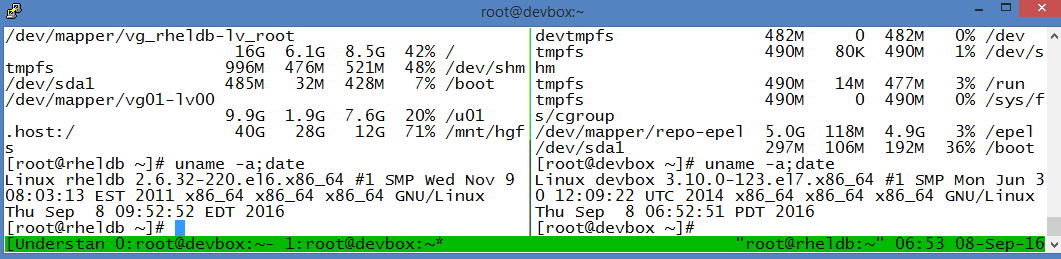 A system engineer's notebook: Tmux for ssh multiplexing/parallel