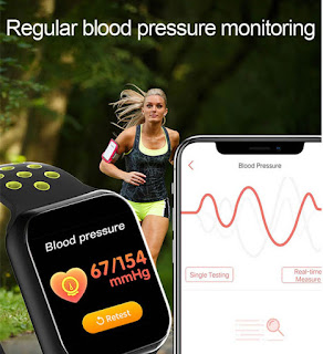 Smart Watch Heart Rate Monitor Calories Fitness Tracker