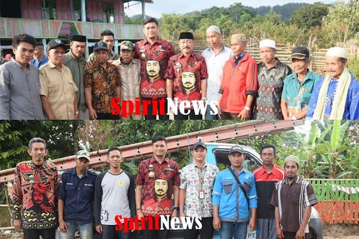 Bupati Gowa, Instruksikan Jajarannya Segera Benahi Dusun Borongbulu