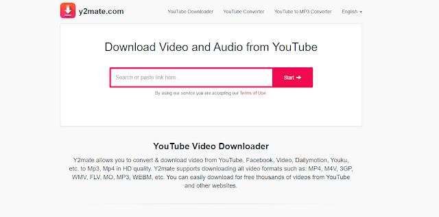 موقع رائع لتنزيل مقاطع فيديو يوتيوب وقوائم التشغيل وتحويل الفيديو إلى صوت