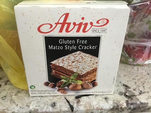 gluten free matzo