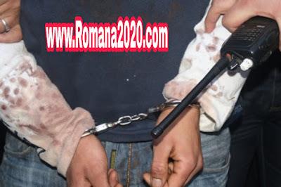 الشرطة تقبض على شخص بشبهة ارتكاب جريمة في والده في سلا المغرب