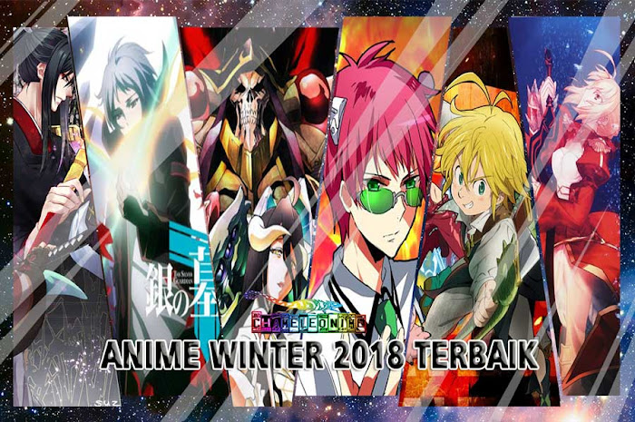 REKOMENDASI 51 Anime Terbaik Rilis Musim Winter 2018 List Lengkap