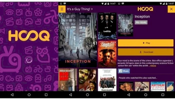 Best Movie Watching Apps On Android HOOQ