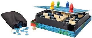 componentes del juego de tablero el laberinto mágico