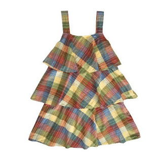 Ace & Jig Simone Dress in Madras