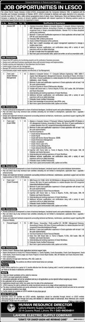 lesco-jobs-2020-advertisement-apply-online