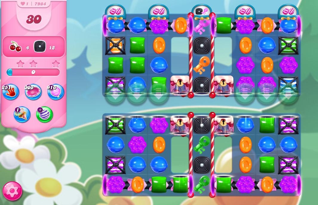 Candy Crush Saga level 7984