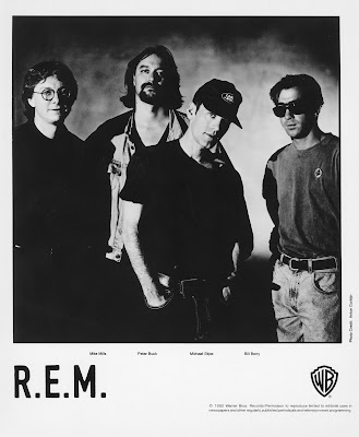 R.E.M. photo by Anton Corbijn, courtesy Warner Bros. Records