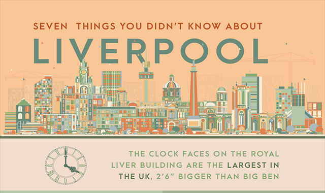 Seven Things You Didn't Know About Liverpool #infographic