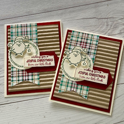Cards made using the Stampin' Up! Birds of a Feather Stamp Set