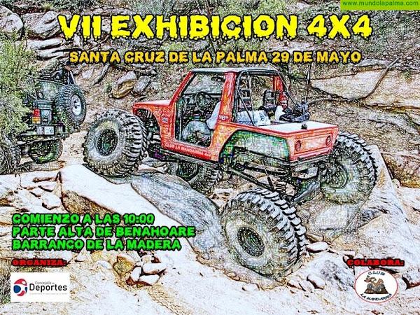 Santa Cruz de La Palma organiza este sábado una exhibición de vehículos 4x4
