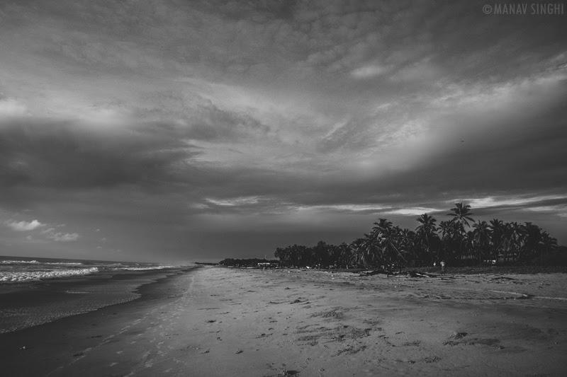 Shot of Fisherman Area near Le Pondy Beach Resort, Pondicherry- 31-Oct-2019