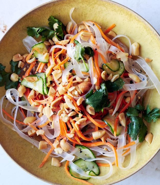 Noodles with Pickled Vegetables