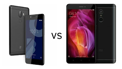 10.or G vs Xiaomi Redmi Note 4