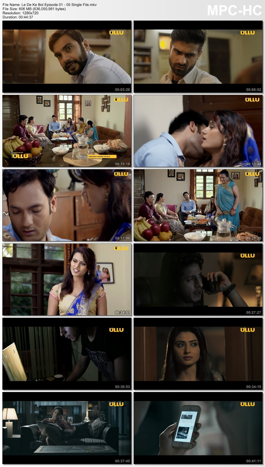 Screen Shoot of Le De Ke Bol S01 Complete Hindi 720p HDRip 600MB