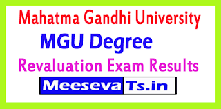 Mahatma Gandhi University Degree Revaluation Exam Results