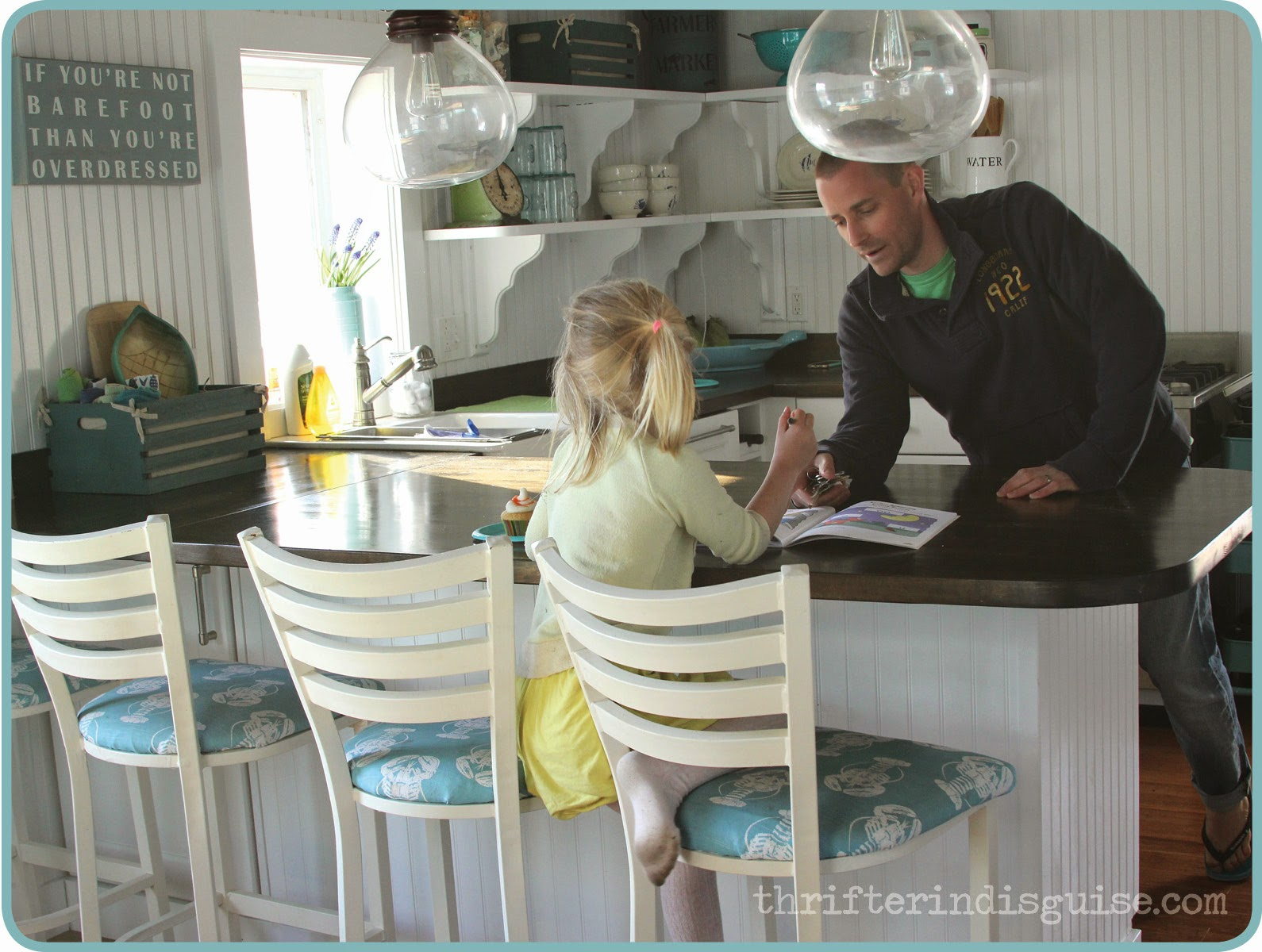 Beachy Cottage Kitchens