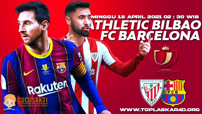 Prediksi Bola Athletic Bilbao vs Barcelona Minggu 18 April 2021