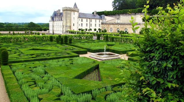 Castelul Villandry Valea Loarei Franta
