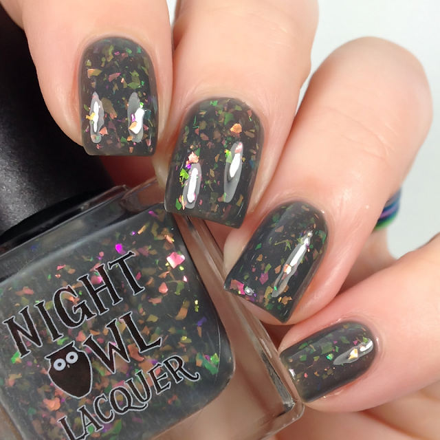 Night Owl Lacquer-I'm Here For the Right Reasons