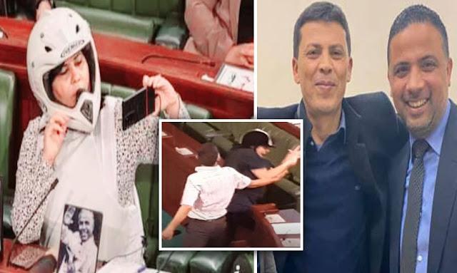 Tunisie: Abir Moussi agressée verbalement par les députés de la Coalition Al Karama [Vidéo]