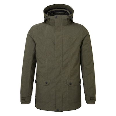 Tog 24 - Dark khaki marl Arkle milatex 3-in-1 jacket