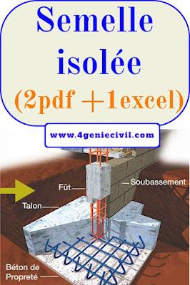 Calcul semelle isolée sous poteau pdf