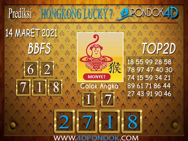 Prediksi Togel HONGKONG LUCKY7 PONDOK4D 14 APRIL 2021