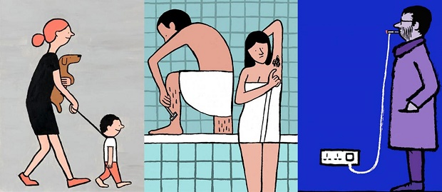 20 Ilustrasi Kehidupan Modern Sekarang ini yang PASTI Bakal Menyindir Kamu
