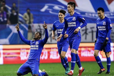 Odion Ighalo Hits Double In Shanghai Shenhua Win